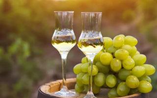 Состав и полезные свойства чачи из алычи, винограда