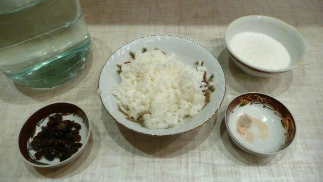 Рисовый квас с изюмом польза и вред