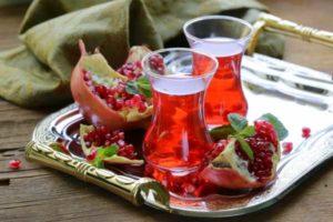 Гранат- польза и вред, калорийность и витамины