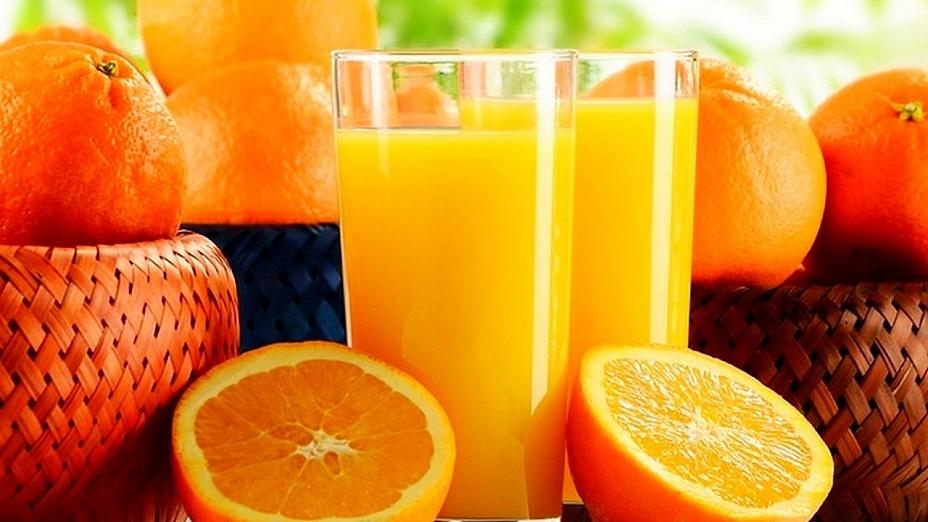 Свежий апельсиновый сок