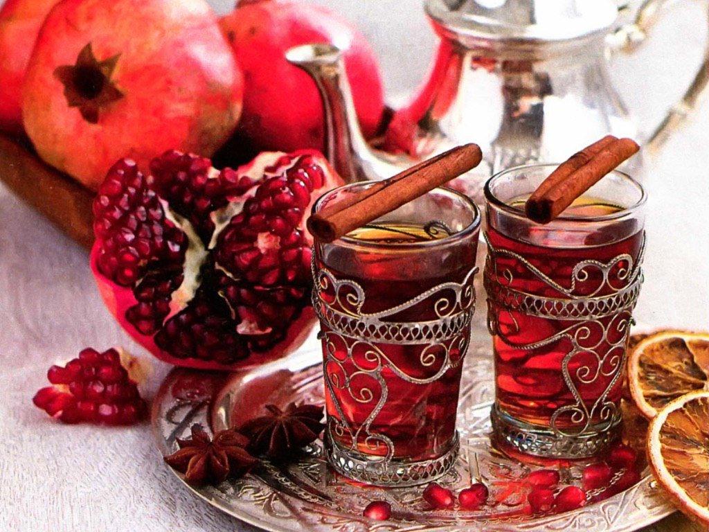 Гранатовый чай из турции как заваривать