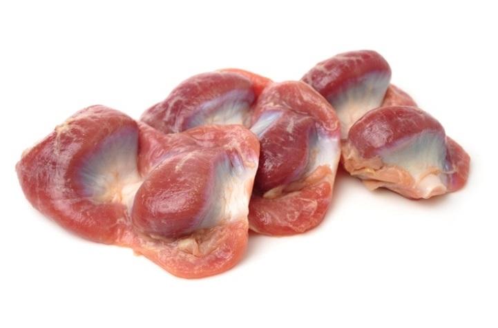 Мышечные желудки куриные