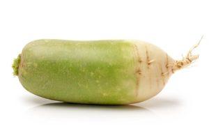 Польза зеленой редьки для организма человека