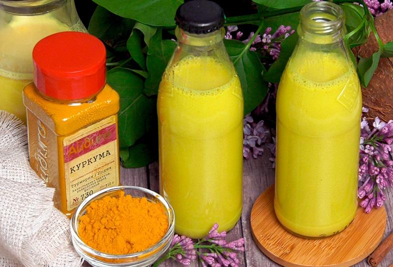 Золотое молоко из куркумы: польза, рецепт приготовления, отзывы
