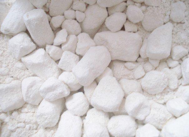 Маска для лица на основе белой глины