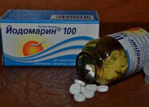 Побочные действия от йодомарина