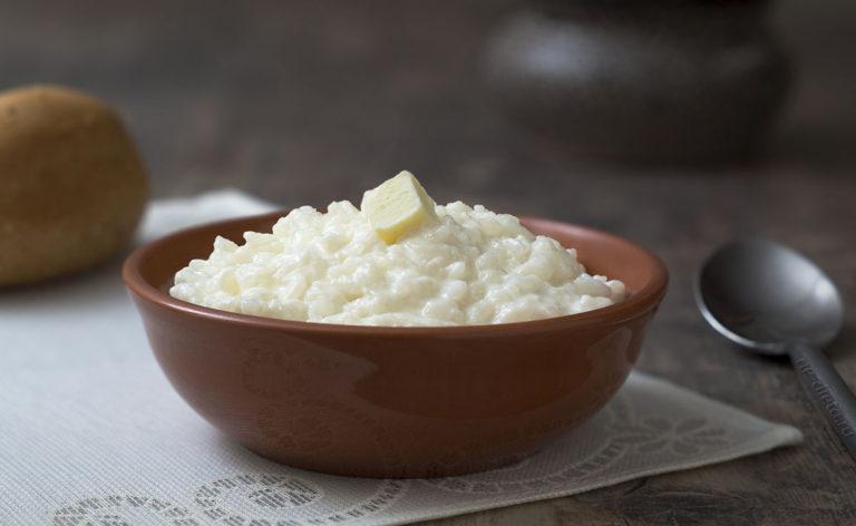 Рисовая каша на воде для ребенка