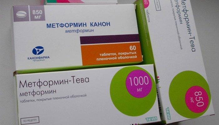 Метформин - инструкция, показания и противопоказания