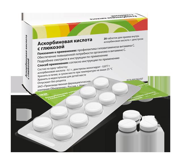 Аскорбиновая кислота защищает от диабета рекомендации