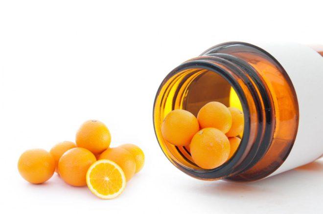 Аскорбиновая кислота с глюкозой таблетки
