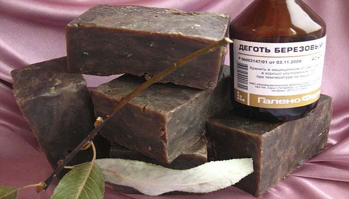 Дегтярное мыло - польза и вред, применение