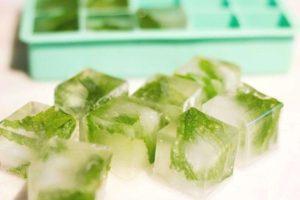 Протирание лица кубиками льда вред и польза