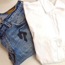 Как и чем отстирать жирное пятно на джинсах