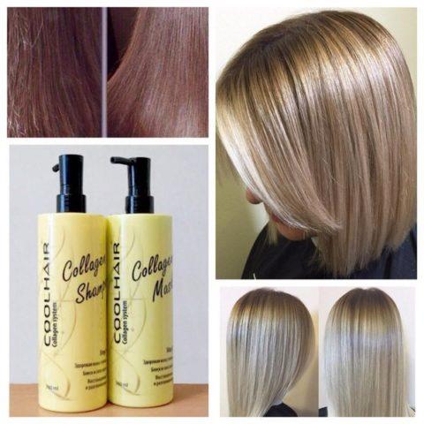 Недостаток коллагена приводит к ломкости, сухости, потере блеска. Посещение салонных процедур поможет насытить волос недостающим коллагеном.