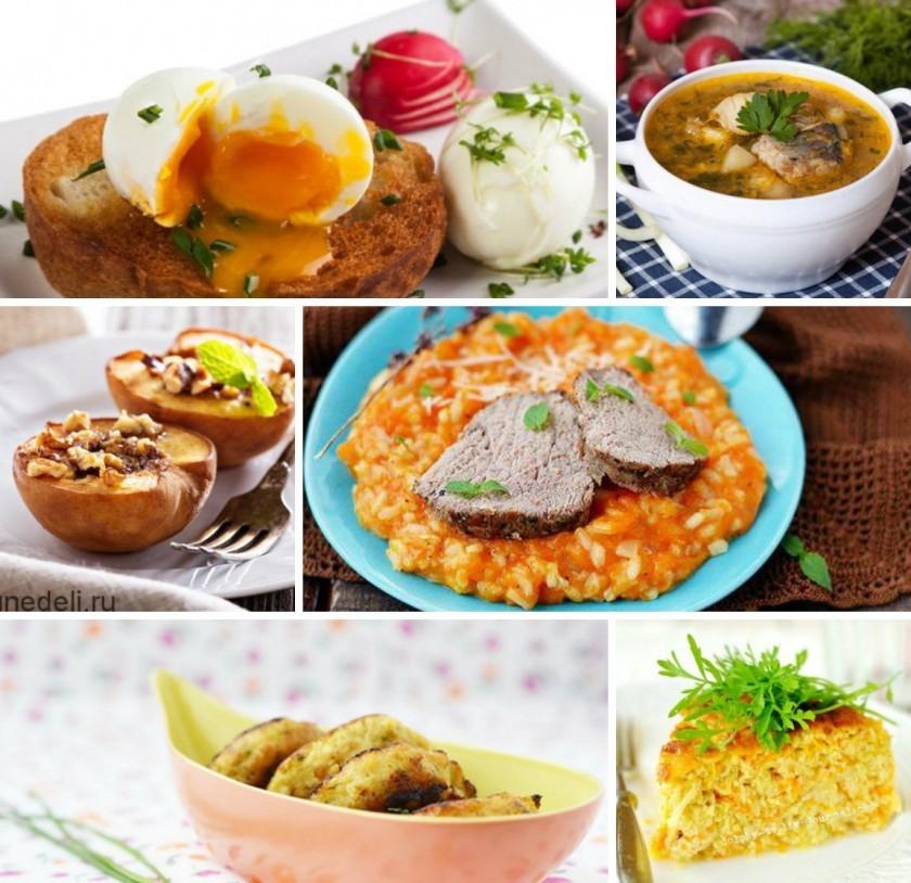 Диета 5 какие блюда можно приготовить