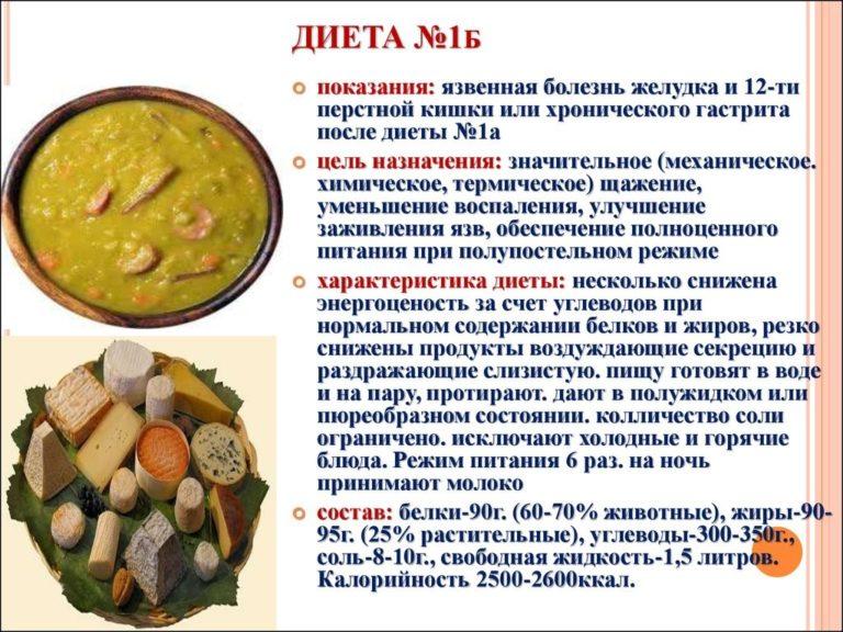 Язва диета 5