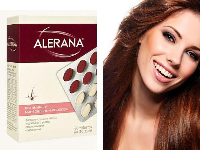 Алерана для роста волос таблетки