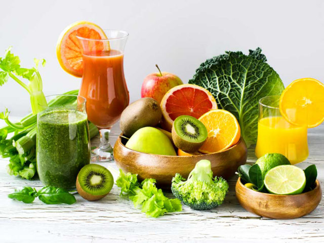 Антиоксиданты в продуктах питания - таблица и список