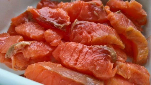 Сколько калорий в рыбе кета