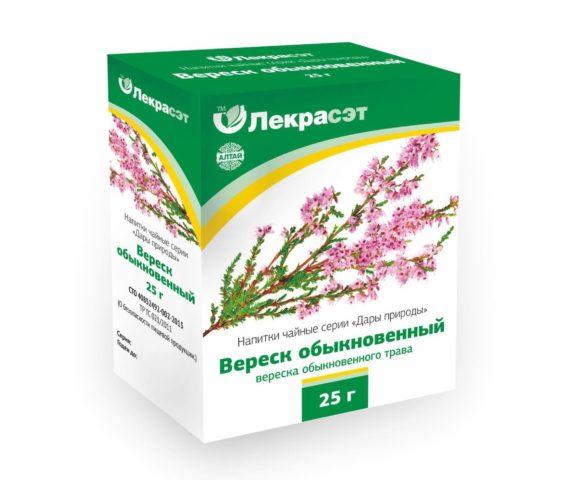 Вереск обыкновенный – напиток из вереска. Растение вереск (трава) – лечебные свойства и противопоказания